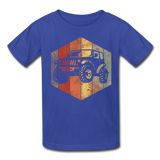 Youth T-Shirt : Rainbow Jeep - royal blue; Jeep t-shirt, Jeep Shirt, Jeep T, Jeep Girl shirt, Jeep Girl t-shirt, Overland Jeep Shirt, Overland Jeep T-Shirt, Rainbow Jeep T-Shirt, Rainbow Jeep Shirt, Jeep Lover Shirt, Jeep Lover T-Shirt