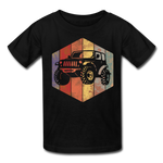 Youth T-Shirt : Rainbow Jeep - black; Jeep t-shirt, Jeep Shirt, Jeep T, Jeep Girl shirt, Jeep Girl t-shirt, Overland Jeep Shirt, Overland Jeep T-Shirt, Rainbow Jeep T-Shirt, Rainbow Jeep Shirt, Jeep Lover Shirt, Jeep Lover T-Shirt