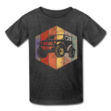 Youth T-Shirt : Rainbow Jeep - heather black; Jeep t-shirt, Jeep Shirt, Jeep T, Jeep Girl shirt, Jeep Girl t-shirt, Overland Jeep Shirt, Overland Jeep T-Shirt, Rainbow Jeep T-Shirt, Rainbow Jeep Shirt, Jeep Lover Shirt, Jeep Lover T-Shirt