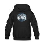Youth Hoodie : Blue & White Jeep - black; Jeep Hoodie, Jeep Hoodie, Jeep Sweatshirt, Jeep Girl Sweatshirt, Jeep Girl Hoodie, Overland Jeep Sweatshirt, Overland Jeep Hoodie, Blue and White Jeep Sweatshirt, Blue and White Jeep Hoodie, Jeep Lover Sweatshirt, Jeep Lover Hoodie