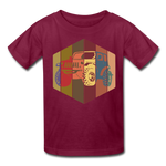 Youth T-Shirt : Pop Art Jeep - burgundy; Jeep t-shirt, Jeep Shirt, Jeep T, Jeep Girl shirt, Jeep Girl t-shirt, Overland Jeep Shirt, Overland Jeep T-Shirt, Rainbow Jeep T-Shirt, Rainbow Jeep Shirt, Jeep Lover Shirt, Jeep Lover T-Shirt, pop art jeep shirt, pop art jeep t-shirt, 80's Jeep Shirt, 80's Jeep T-Shirt