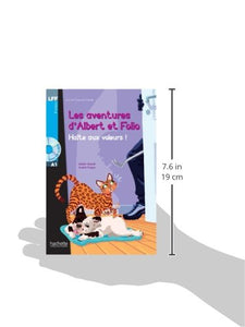 Albert et Folio : Halte aux voleurs ! + CD Audio - Rayon FLE