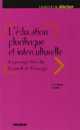L'éducation plurilingue et interculturelle : La perspective du Conseil de l'Europe