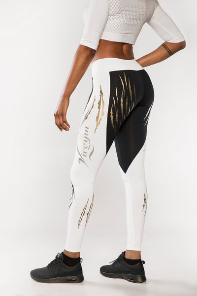 Gold Tiger Tights