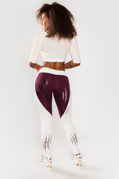 Purple Tiger Tights