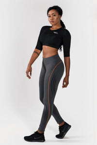 Endurance Anthrazit Tights
