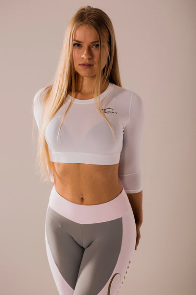 White Sports Top