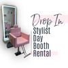DROP IN STYLIST BOOTH RENTAL
