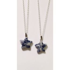 Sodalite Star Necklace