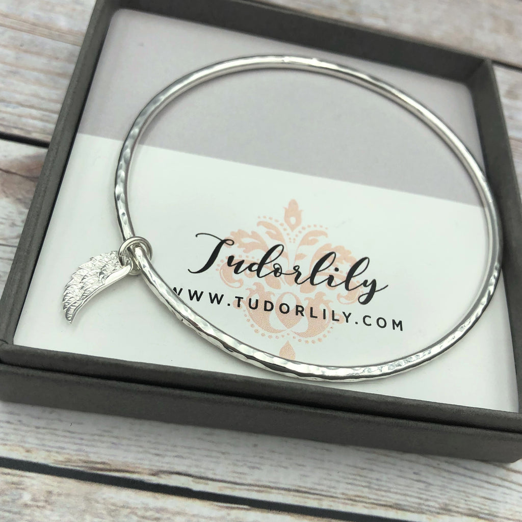 Angel Wing Bangle