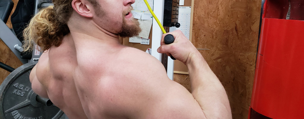 Lifting straps for a bigger back (and grip)!