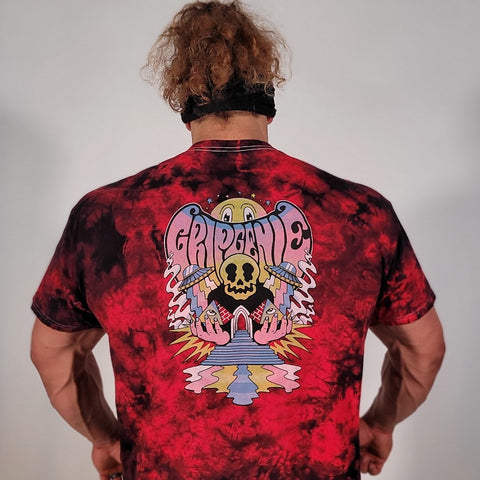 Psychedelic Tie Dye | Red