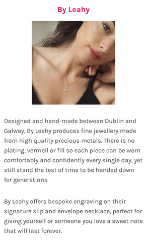 Everymum.ie 6 Irish Jewellery Brands That Will Add Some Sparkle To Your Day By Leahy Slip Necklace silver.jpg