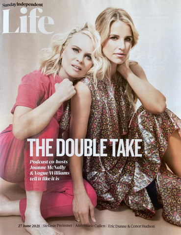 Sunday Independent Life Magazine June 27 2021 By Leahy Signature Envelope Necklace and Signature Slip 9ct Gold