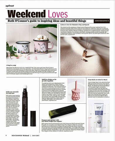 Letters to love for Valentine's Day Irish Examiner By Leahy Fine Jewellery
