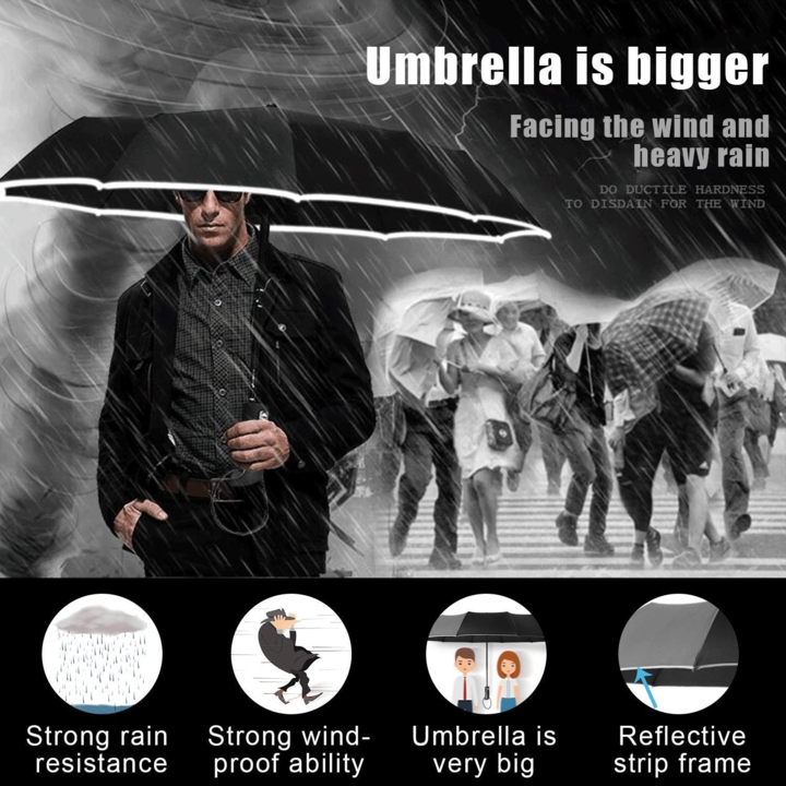 (Limited Stock-Up To 50% OFF)Fully Automatic Folding Business Umbrella