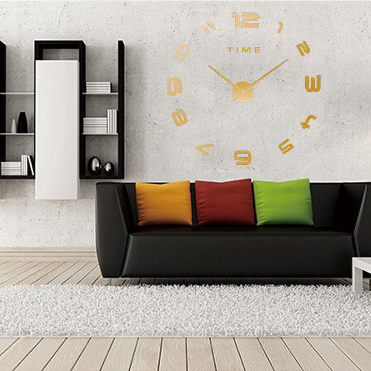Creative DIY Living Room Modern Personality Art Wall Clock