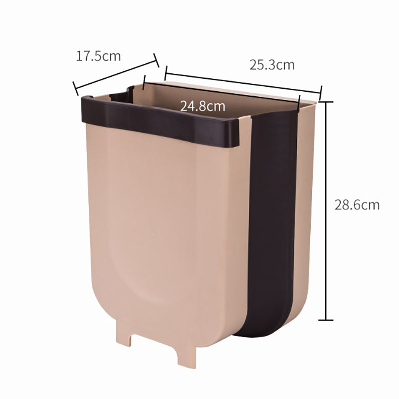 (Limited Stock-Up To 50% OFF)Folding Classification Small Household Wall-mounted Trash Can