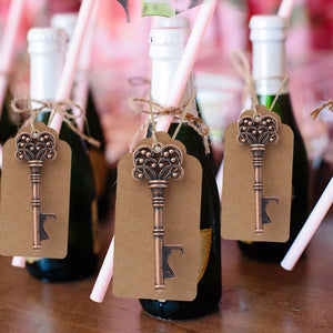 Wedding Key Bottle Opener Favor 10 Pieces