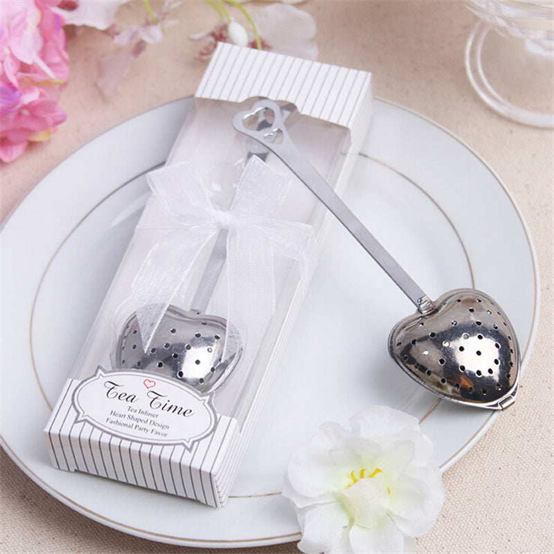 Casamento Heart Shape Tea Infuser Wedding Favor 1 Piece