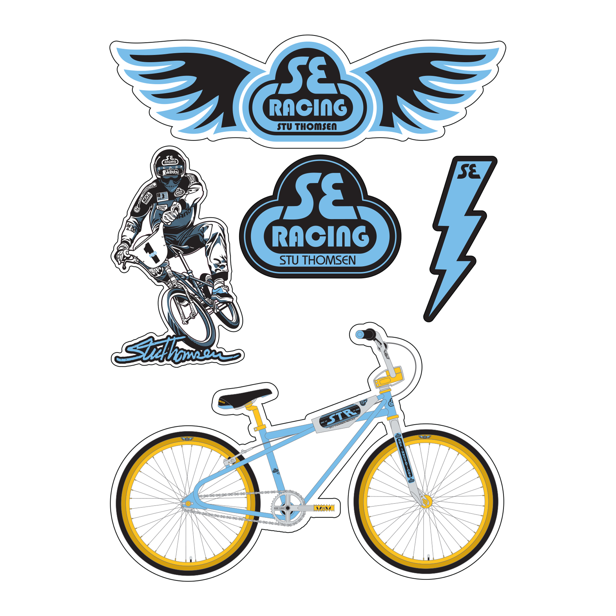 Cilo Bicycle Decals Stickers n.780
