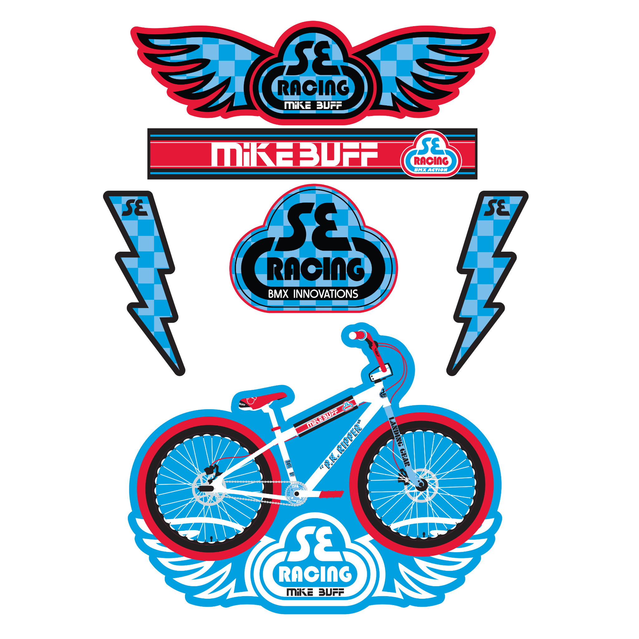 Brooks Saddles Bicycle Stickers Factory Decal Frame Graphics Adhesive 14 Pcs