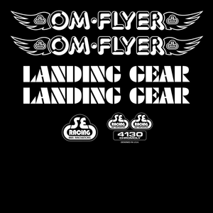 OM Flyer Decal Set