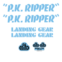 PK Ripper Decal Set