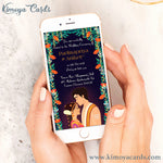 Dreamy Tamil Brahmin Wedding E-Card - Iyer Wedding