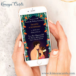 Dreamy Tamil Brahmin Wedding E-Card - Iyengar Wedding