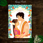 Dreamy Tamil Brahmin Wedding Card - Iyer Wedding