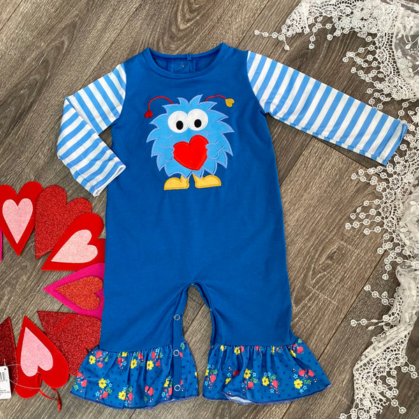 Boutique Girls LOVE BUG Romper