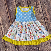 Girls Alice In Wonderland Dress