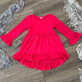 Hi-Lo Tunic Dress Colors #1-14