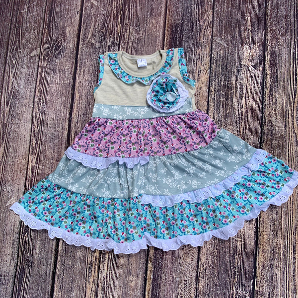 Boutique Girls Ruffle Dress