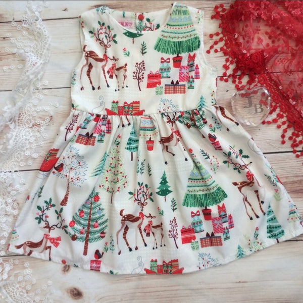 Boutique Vintage Christmas Dress
