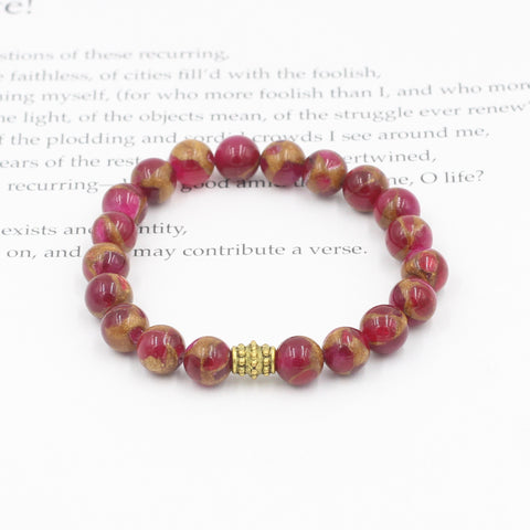 Red & Brown Jasper Bracelet