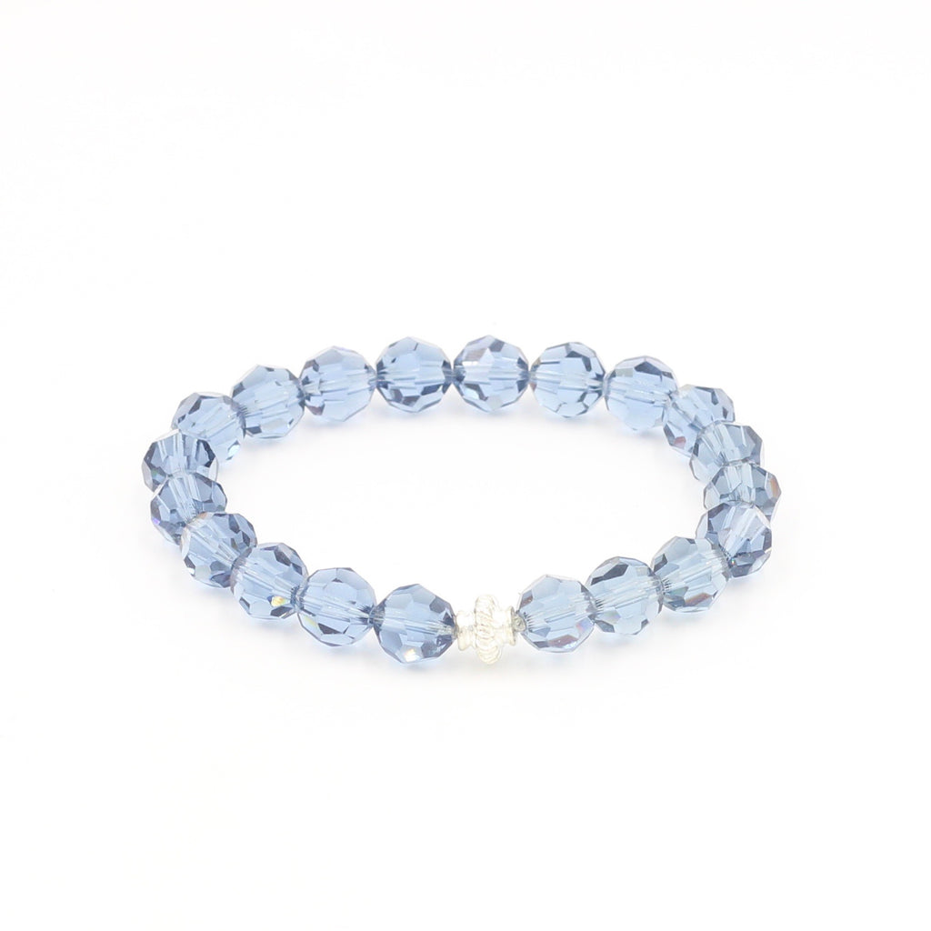 Light Blue Swarovski Bracelet