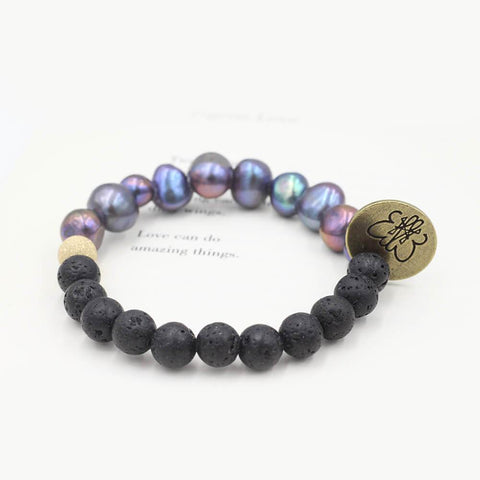 Susan Balaban Designed Healing Bracelet - Purple bracelet made of XYZ stones that promotes healing for sale