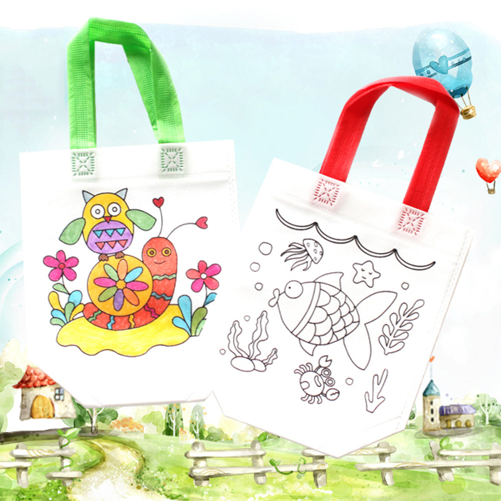 Bolsas Infantiles Para Colorear  (Sin Ceras) - second-pair