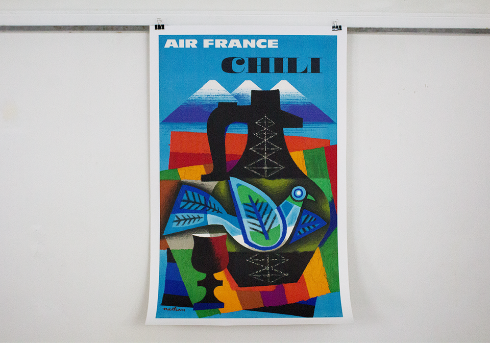 Air France Chili - Jacques Nathan