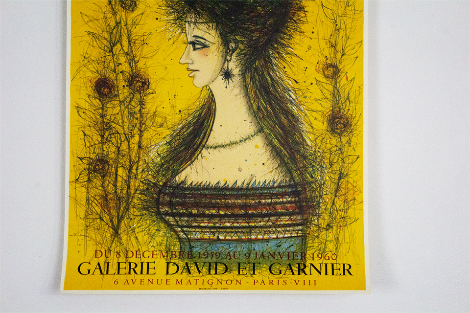 Exhibition Carzou at Galerie David And Garnier - 1960