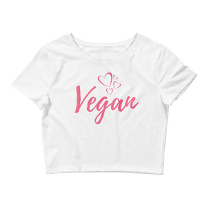"""Vegan Love"" Crop-Top"