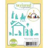 Taylored Expressions thin metal die - Build a Scene Nativity, Made in USA