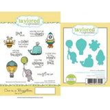 Taylored Expressions cling rubber stamps & thin metal dies - One in a Buzzillion, Made in USA
