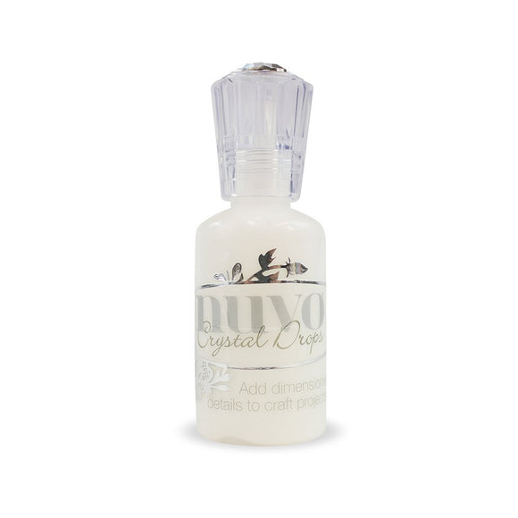 Nuvo Glossy Crystal drops- Simply White