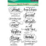 Penny Black clear acrylic stamps - Special Thoughts