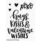 My Favorite Things clear acrylic stamps - Valentine Wishes, Made in USA