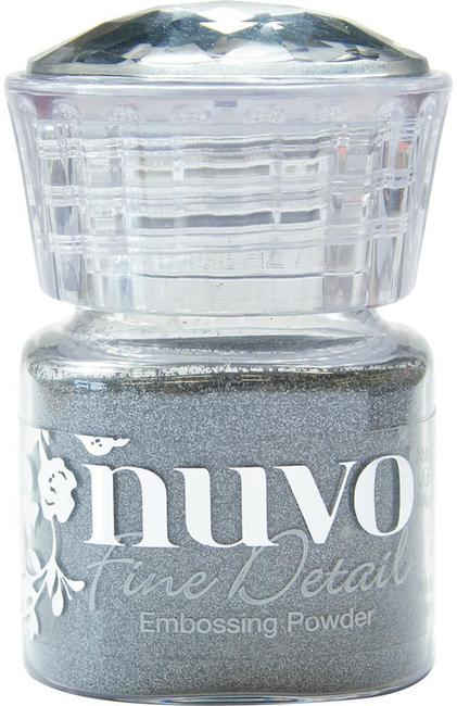 Nuvo Classic Silver fine detail embossing powder