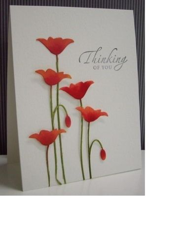 Memory Box Prim Poppy thin metal die, Made in USA